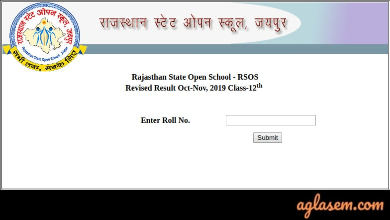 RSOS 12th Result Oct- Nov 2019