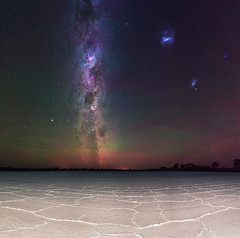 Summer Milky Way at Lake Dornducking - Wagin, Western Australia