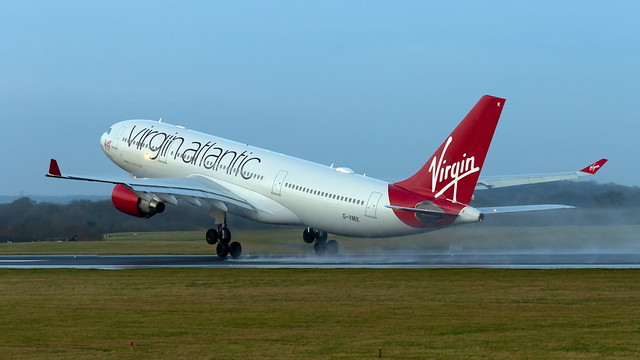 Virgin Atlantic Airbus A330-223 G-VMIK