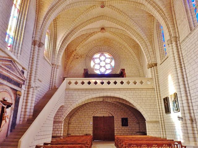 Igleia-fortaleza de San Saturnino - Artajona- Navarra