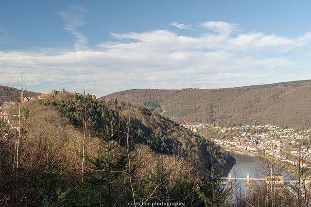 Dilsberg - Neckarsteinach View - January 2020 II