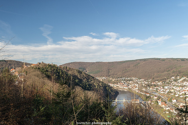 Dilsberg - Neckarsteinach View - January 2020 I