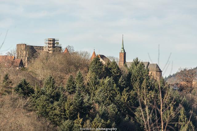 Dilsberg Castle in January 2020 I