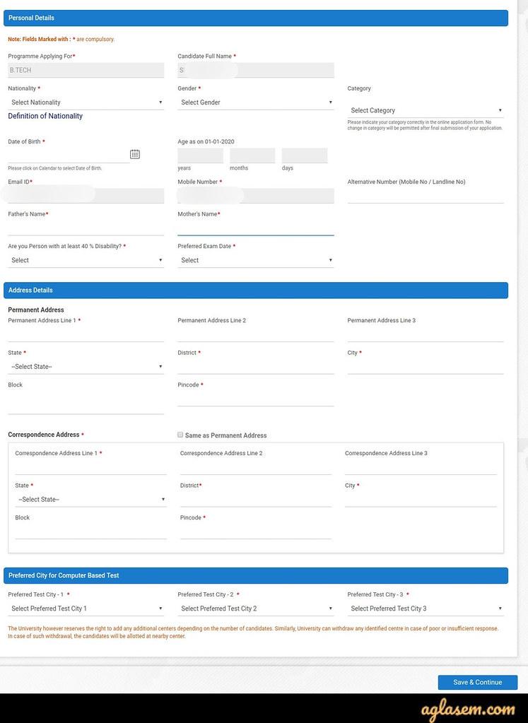 BVP HM Application Process