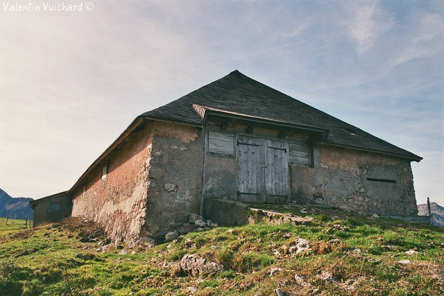 SF-23a_00227 - La Brâ, alpine pasture farm, Gruyère region - Switzerland