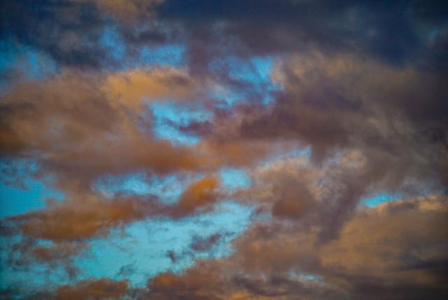 Wolken in January.