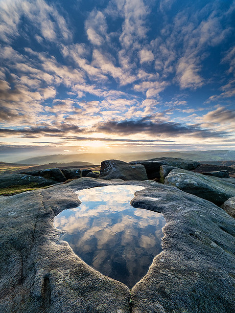 Stanage reflections