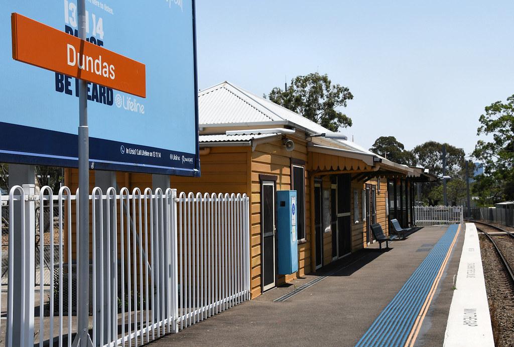 Dundas Railway Station, Dundas, Sydney, NSW.