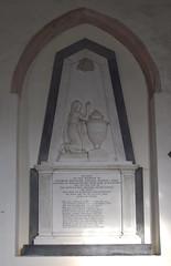 Here lies a NASSAU - Honour owns the name and GEORGE prefix's awakens friendship's claim (1823)