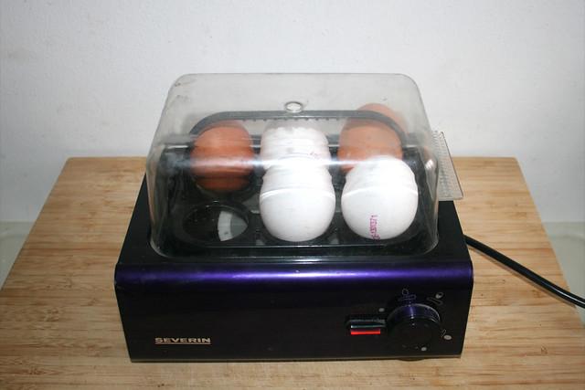 01 - Eier hart kochen / Boil eggs