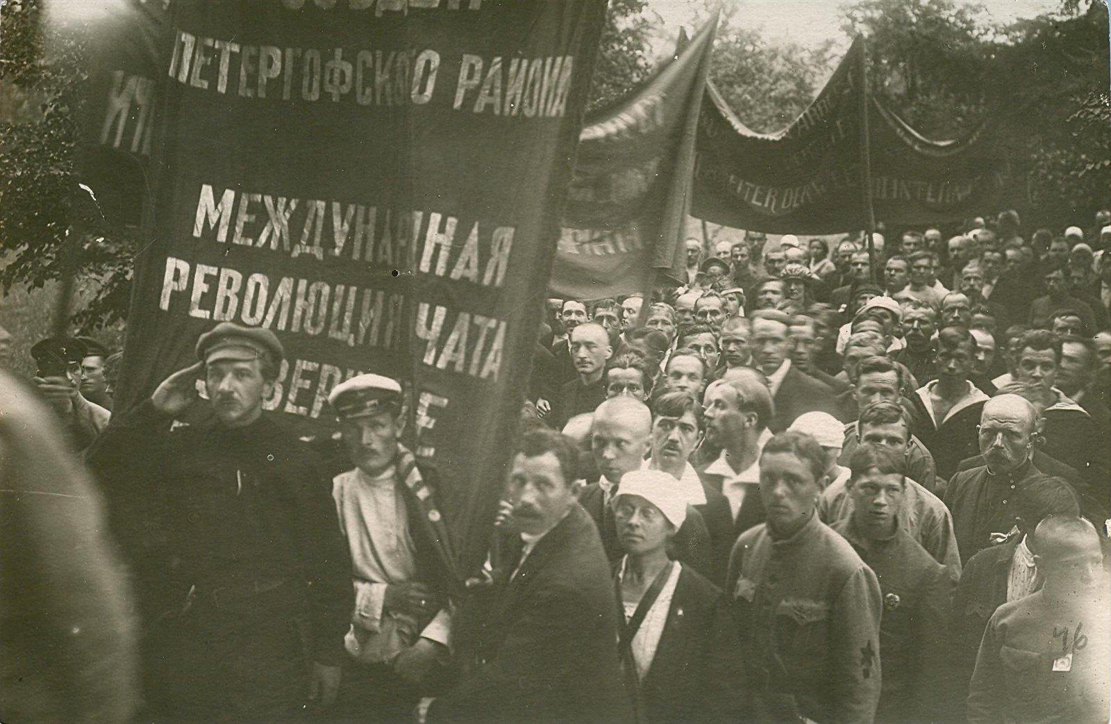 20. 1920. 19 июля. В день торжественного открытия II конгресса Коминтерна у Смольного