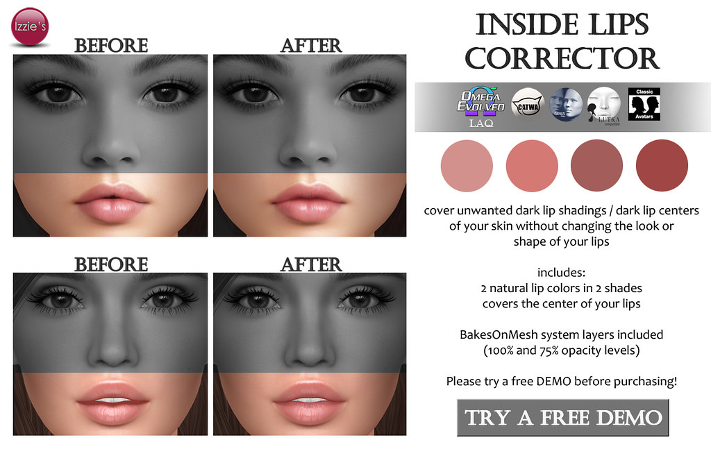 Inside Lips Corrector