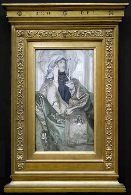 L'Encens de Fernand Khnopff (Musée d'Orsay, Paris)