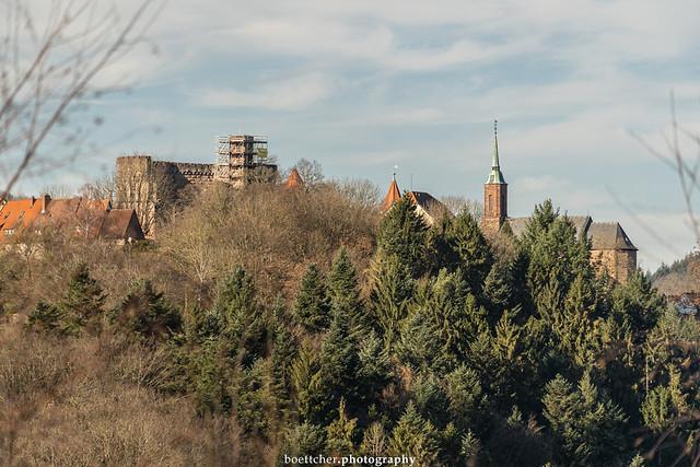 Dilsberg Castle in January 2020 II