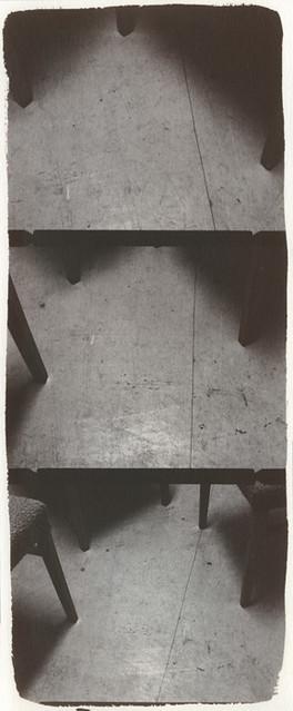 Empty spaces - Triptichon 01. (Salt print)