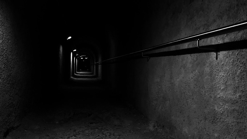 The way out of the underground.
