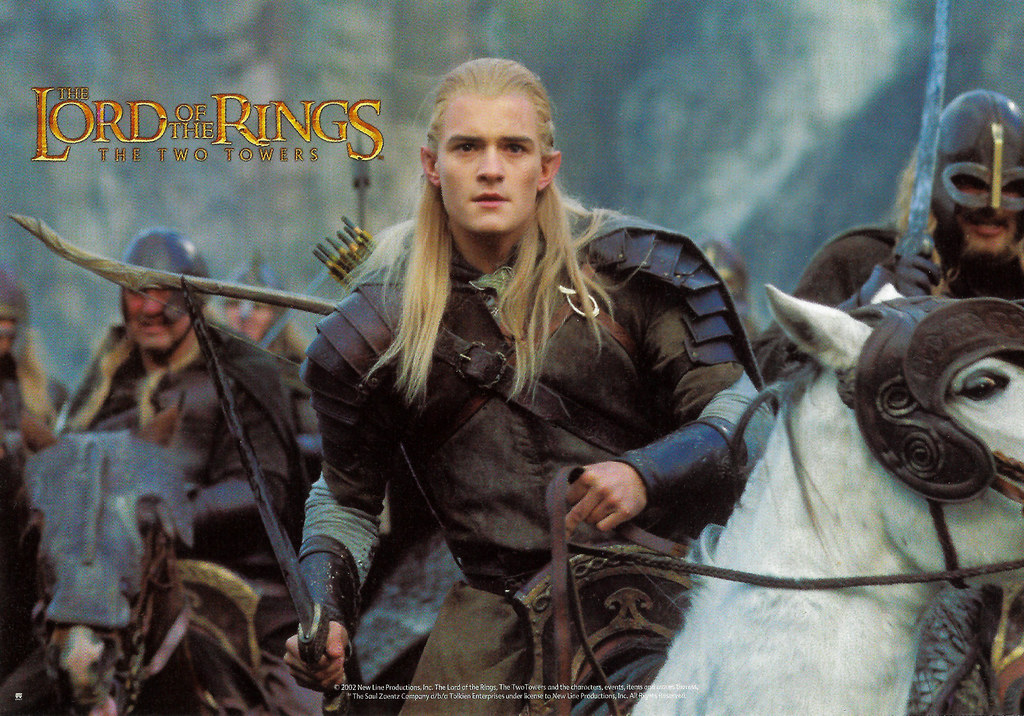 Orlando Bloom In Lord Of The Rings The Two Towers 2002 A Photo On Flickriver