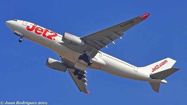 G-VYGM - Jet2 - Airbus A330-243 - PMI/LEPA