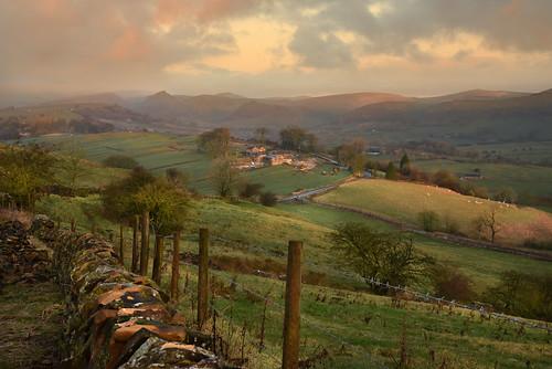 longnor derbyshire landscape