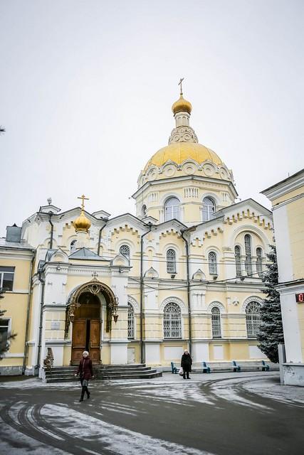 18 января 2020, В Крещенский сочельник митрополит Кирилл совершил Литургию и чин великого освящения воды в Андреевском соборе