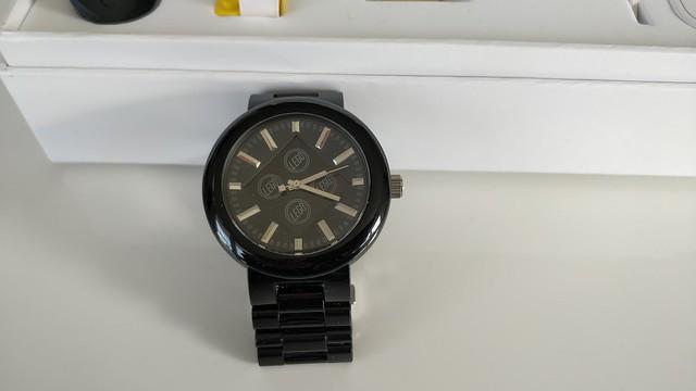 Lego 4 Stud black watch