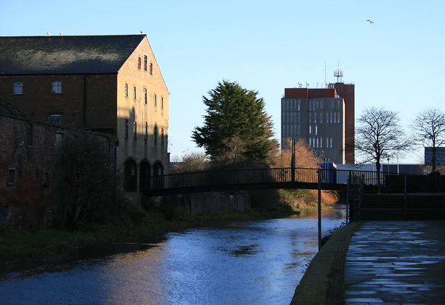 River Freshney, Grimsby.