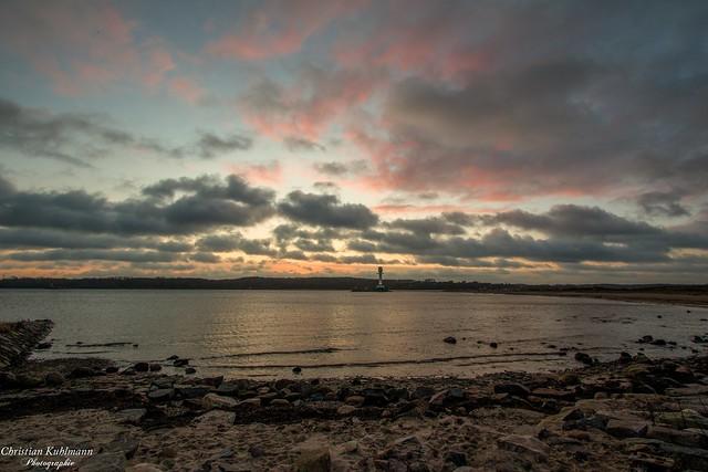 Sonnenaufgang/Sunrise Kieler-Förde