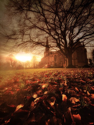 landscape buckingham church