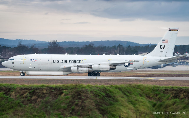 RMS | United States Air Force Boeing E-8C Joint STARS | 02-9111