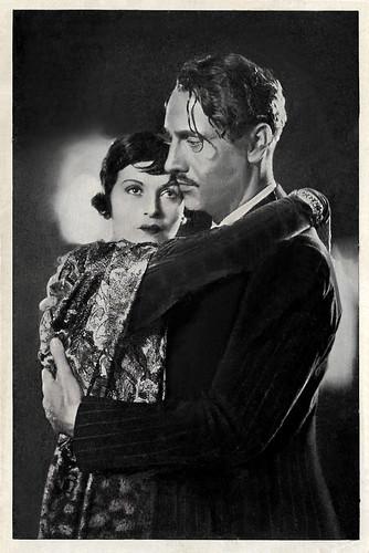 Sybille Schmitz and Siegfried Schürenberg in Der Herr der Welt (1934)