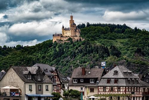 braubachamrhein germany deutschland marksburg