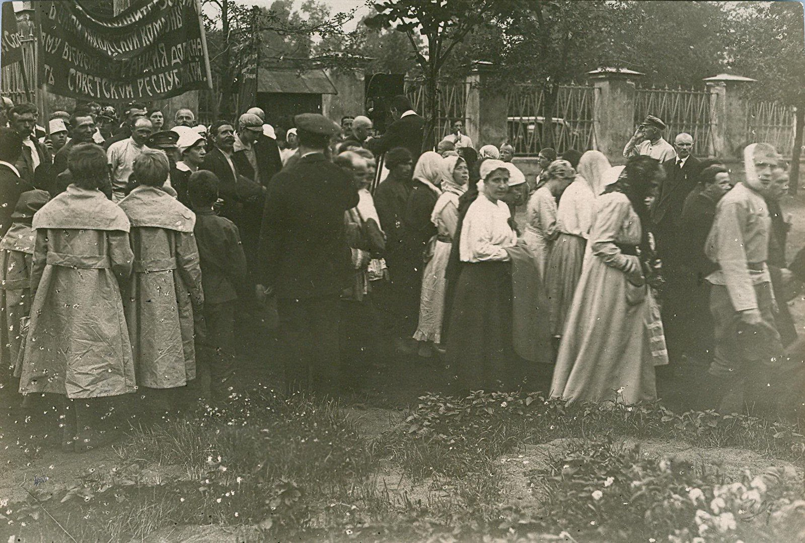 19. 1920. 19 июля. В день торжественного открытия II конгресса Коминтерна у Смольного