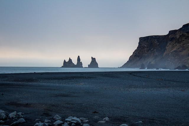 Iceland Reynisdrangar beach