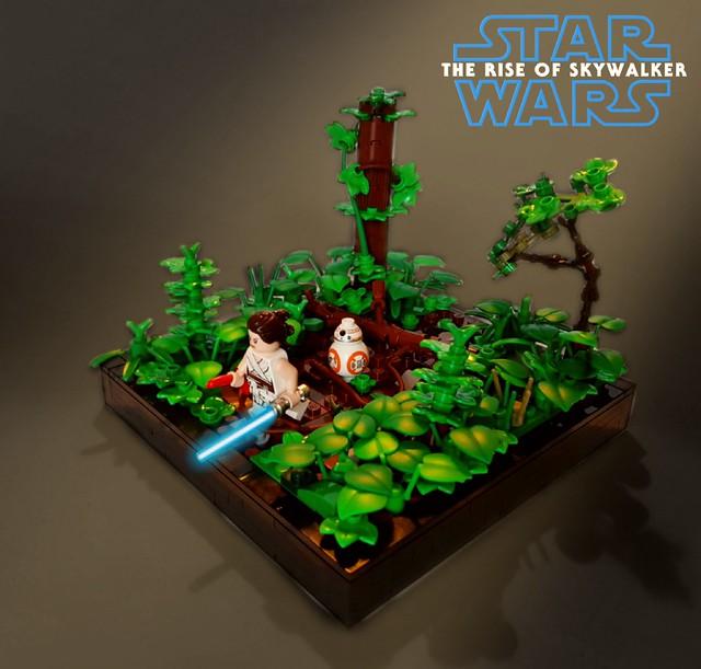 Star Wars Episode IX The Rise of Skywalker - Rey's Jedi Training on Ajan Kloss
