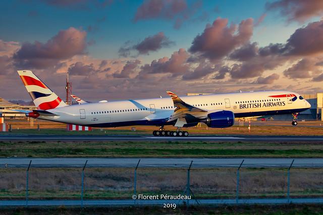 F-WZGP // G-XWBE BRITISH AIRWAYS AIRBUS A350-1041 msn 386