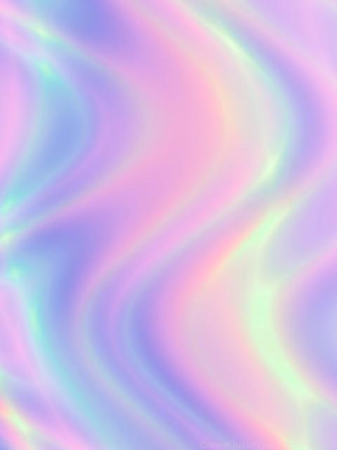 Colorful curve art phone wallpaper