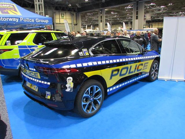 West Midlands Police Jaguar I-Pace (OX19 PUA)