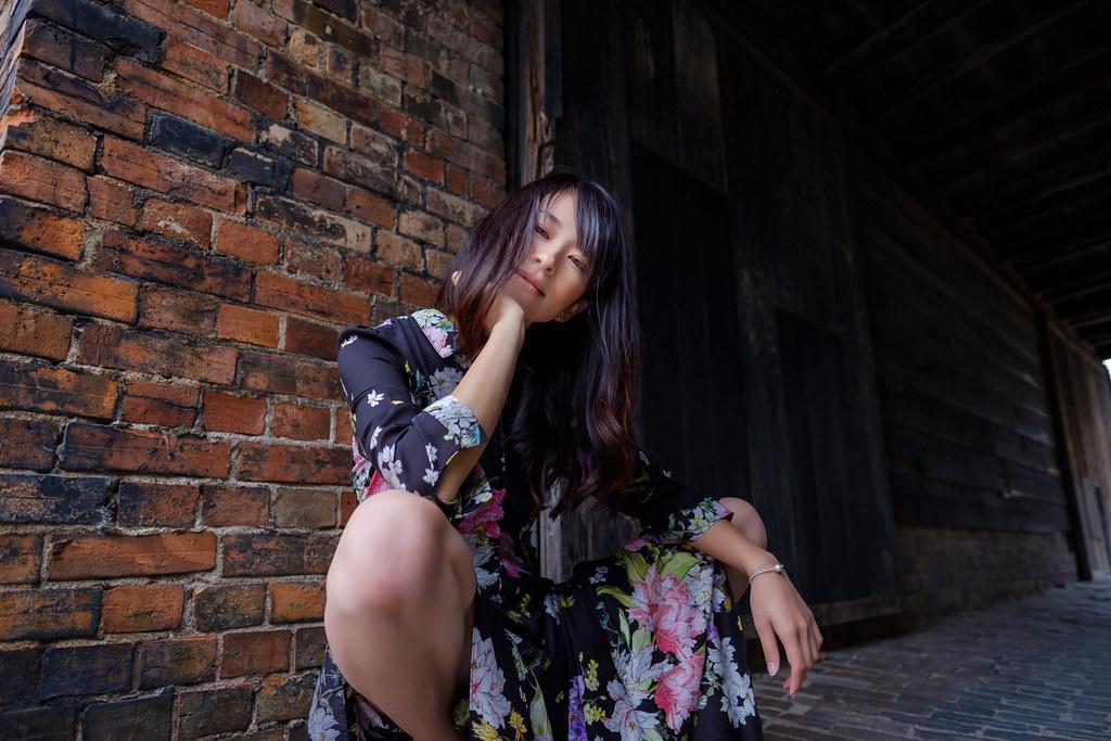 Yumiko at Tokoname, Aichi, JAPAN