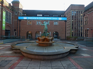 Guild of Students, University of Birmingham - Mermaid fountain | by ell brown