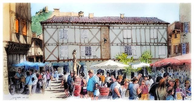 Saint - Céré - Occitanie - France