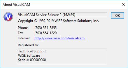 WISE VisualCAM 16.9.69 x64 full license