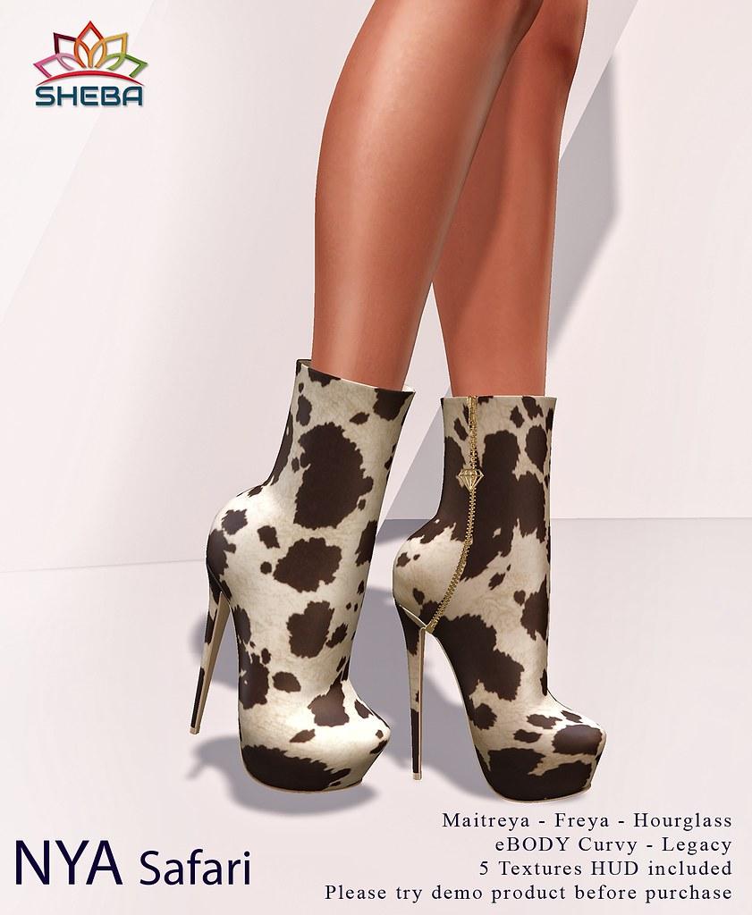 [Sheba] Nya Boots *Safari @FBF