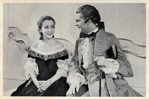 Käthe von Nagy and Viktor de Kowa in Der junge Baron Neuhaus (1934)