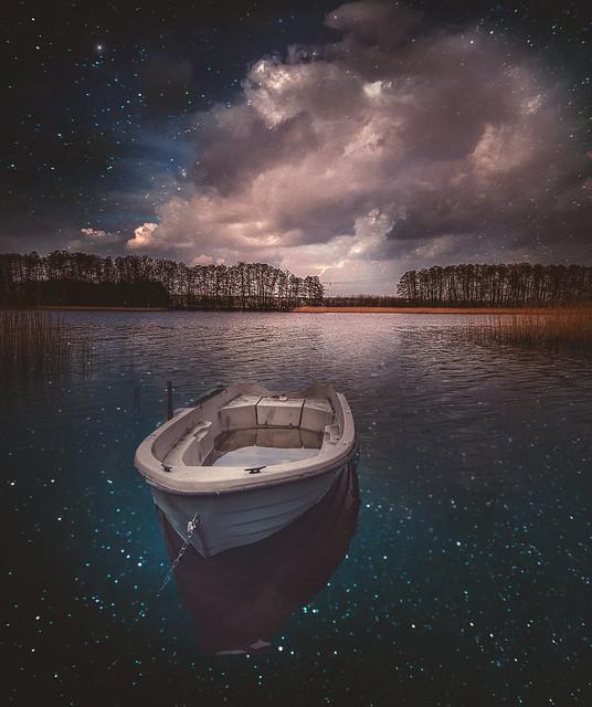 Sterne sind die Vergissmeinnicht der Engel.