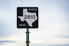Ranch Road 2810 Sign  5