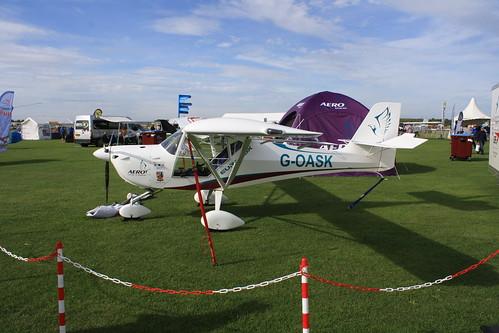 G-OASK Aeropro Eurofox [LAA 376-15416] Sywell 300819