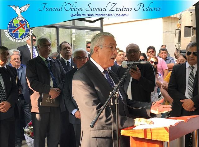 Funeral Obispo Samuel Zenteno Pedreros