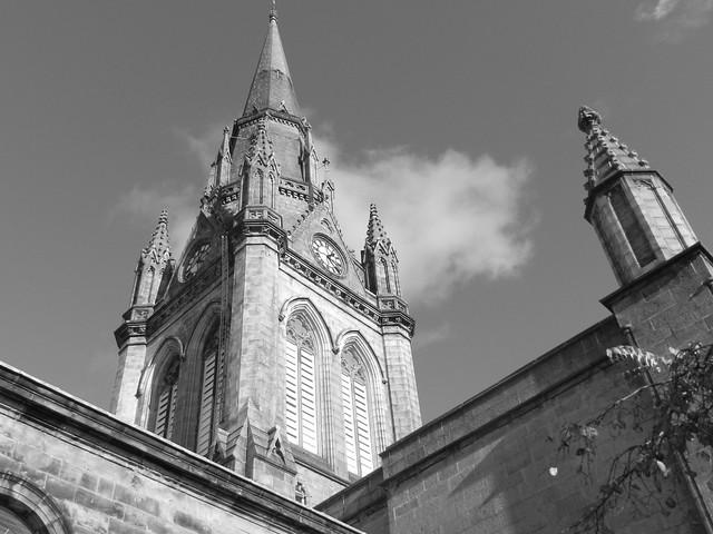 Kirk of St Nicholas Spire, Aberdeen, Oct 2019