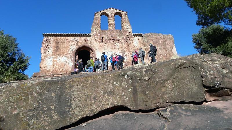 El castell d'Eramprunyà