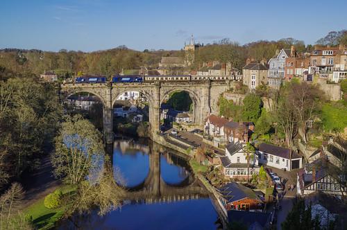 class20 drs 20305 20302 knaresborough knaresboroughviaduct yorkshire yorkshirerailways railways ukrailways ukrailtours rivernidd